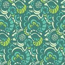 Repetition,Ilustration,Seamless,Vector,Wallpaper Pattern,Computer Graphic,Doodle,Backgrounds,Decoration,Ornate,Pattern,Abstract
