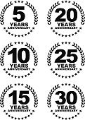 Number 25,Anniversary,Number 20,Badge,Number 15,Label,Approved,Computer Icon,Curve,Placard,Success,Symbol,Old-fashioned,premium,Elegance,Banner,Number 30,Medal,Celebration,years,warranty,Award,Quality Control,Number 5,Number 10,Insignia,Expertise,Circle