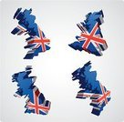 UK,British Flag,Three-dimensional Shape,Cartography,England,Vector,Symbol,Patriotism,Flag,Scotland,Computer Graphic,Placard,Arts And Entertainment,Arts Symbols,Travel Locations,Northern Europe,Personal Perspective,Ilustration,Illustrations And Vector Art