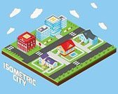 Isometric,Three-dimensional Shape,Town,Urban Scene,Factory,Industry,City,Built Structure,Ilustration,School Building,Building - Activity,Symbol,Construction Industry,Apartment,Real Estate,Village,Computer Icon,Icon Set,Police Force,Playground,Concepts,Scrapbook,Business,Ornate,House,Government,Sky,Family,Design Element,Mansion,Single Object,Modern,Collection,Fire - Natural Phenomenon,Station,Architecture,Office Building,Insignia,Design,Set,Housing Project,Vector,Hospital