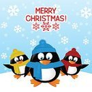 Design,Hat,Ilustration,Cute,Clothing,Message,Antarctica,Image,Nature,New Year,Friendship,Snow,Heat - Temperature,Pole,South,Greeting,Cheerful,Scarf,Polar Climate,Vector,Wildlife,Group Of Animals,Snowflake,Woven,Penguin,Fun,Winter,Christmas,Cartoon,Animal,Bird,Three Animals
