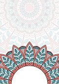 Mandala,Pattern,template,Vector,Cultures,Decoration,Symbol,Semi-Circle,Circle,Abstract,Backgrounds