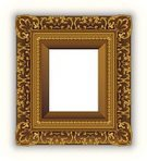 Picture Frame,Frame,Painting,Gold Colored,Gold,Antique,Portrait,Victorian Style,Vector,Art Museum,Art,Old-fashioned,Floral Pattern,Decoration,Isolated,Empty,Swirl,Ilustration,Backgrounds,Arts Backgrounds,Illustrations And Vector Art,Arts And Entertainment