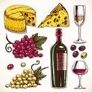 Winery,Retro Revival,Vineyard,Leaf,Collection,Remote,Grape,Bar - Drink Establishment,Old-fashioned,Vector,Bottle,Obsolete,Set,Brown,Design,Red,Tasting,Drink,Vine,Alcohol,Cheese,White,Yellow,Computer Graphic,Wine Bottle,Isolated,Gourmet,Human Hand,Menu,Ilustration,Food,Alcohol,Glass - Material,Glass,Corkscrew,Champagne,Purple,Sketch,Restaurant,Fruit,Green Color,Label,Olive,Wineglass,Wine