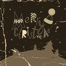 Decoration,Season,Greeting Card,Humor,Celebration,Winter,Computer Graphic,Old-fashioned,Christmas Tree,Fun,Calligraphy,Happiness,Pattern,Ilustration,Retro Revival,Vector,Newspaper Headline,Typescript,Black Color,Christmas,Holiday,Design,Text,Hat,Backgrounds,Tree