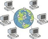 Computer,Network Server,Computer Network,Globe - Man Made Object,Internet,Connection,Earth,Communication,Network Connection Plug,Technology,USA,PC,Global Communications,Html,Computer Cable,Wide,Computer Monitor,Attached,Cable,www,Planet - Space,Choosing,Machinery,Sharing,Working,Desktop PC,Community,Concepts And Ideas,Information Medium,Downloading,The Americas,world wide,Global Business,Electrical Equipment,Communication,uploading
