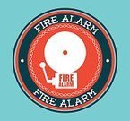 Alarm,Vector,Symbol,Danger,Fire Alarm,Backgrounds,Urgency,Road Sign,Safety,Protection,Rescue,Equipment,Service,Sign,Ilustration,Security Guard,Security,Label,Station
