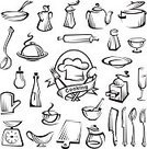 Food And Drink Industry,Food Service Occupation,Symbol,Vector,Food,Fork,Kettle,Table Knife,Domestic Kitchen,Design,Menu,Image,Salt Shaker,Service,Alcohol,Spoon,Hat,Cup,Glass,Coffee - Drink,Work Tool,Drink,Cooking Pan,Restaurant,Kitchen Utensil,Business,Cooking Utensil,Meal,Tray,Kitchen Knife,Ilustration,Ladle,Occupation,Bowl,Plate,Tea - Hot Drink,Chef,Bottle,Equipment,Set,Cooking,Collection,Dinner