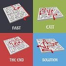 Backgrounds,Abstract,Arrow Symbol,Assistance,Complexity,Choice,Entrance,Mystery,Leaving,Isolated,Outline,Problems,Exit Sign,Strategy,Lost,Success,Maze,Confusion,Searching,Adversity,Street,White,Pattern,Computer Graphic,Leisure Games,Single Object,Ilustration,Help,Entrance Sign,Concepts,Ideas,Puzzle,Vector,Solution,Thoroughfare,Symbol,Design,Entering,Challenge,Decisions,The End,Inspiration,Direction,Business,Wall,Discovery