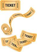 Ticket,Movie Ticket,Ticket Stub,Rolled Up,Vector,Award,Movie,Film,Film Industry,Isolated,Clip Art,Fun,Number,No People,Painted Image,Cinema,Theatre,Arts And Entertainment,Isolated On White