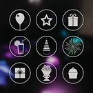 Star Shape,Flat,Computer Icon,Drink,Gift,Cupcake,Cap,Food,Decoration,Pyrotechnics,Defocused,Bubble,Set,Dessert,Birthday,Balloon,Candy,Party - Social Event,Bouquet,Backgrounds,Cocktail,Cookie,Holiday,Celebration,Event,Box - Container,Anniversary