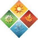 Four Seasons,Season,The Four Elements,Four Objects,Symbol,Computer Icon,Icon Set,Clip Art,Springtime,Autumn,Religious Icon,Winter,Summer,Maple Leaf,Weather,Environment,Sun,Leaf,Falling,Snowflake,Japanese Fall Foliage,Nature,Design,Posing,Flower,Vibrant Color,Frozen,Bright,Computer Graphic,Illustrations And Vector Art,Nature,Sunlight,Style,Spring,Vector Illustration And Painting