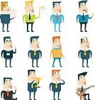 Recruitment,Occupation,Isolated,Looking At Camera,Male,Design,Portrait,Mustache,Tie,Suit,Manual Worker,Vector,Musical Instrument,Digital Tablet,Telephone,Businessman,Cartoon,Job - Religious Figure,Sunglasses,Flag,Standing,Cup,One Person,Emotion,Smiley Face,Concepts,Flat,People,Human Face,Set,Icon Set,Characters,Business,Marketing,Fun,Adult,Watch,Manager,Badge,Smart Phone,Expertise,Stool,Young Adult,Lute,Men,Star Shape