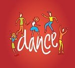 Disco Dancing,Action,Too Big,Cartoon,Ilustration,Vector,Pen And Marker,Fun,Young Adult,Jumping,Dancing,People,Men,Music,Women,Dance And Electronic