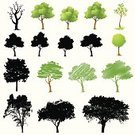 Tree,Silhouette,Vector,Leaf,Nature,Grass,Ilustration,Growth,Green Color,Sketch,Plant,Branch,Drawing - Art Product,Back Lit,Computer Graphic,Outdoors,Drawing - Activity,Beauty In Nature,Color Image,Part Of,Illustrations And Vector Art