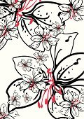 Black Color,White,Pattern,Flower,Hibiscus,Red,Single Flower,Floral Pattern,East Asian Culture,Femininity,Abstract,Vector,Backgrounds,Repetition,Modern,Sparse,Nature,Blossom,Clip Art,Funky,Computer Graphic,Ilustration,Leaf,Botany,Summer,Simplicity,Wrapping Paper,Petal,No People,Springtime,Beauty In Nature,Tonal,Nature Backgrounds,Nature,Large Group of Objects,Vertical,Illustrations And Vector Art