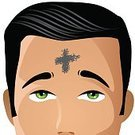 Ash Wednesday,Forehead,Hope,Backgrounds,Religion,Christianity,Clip Art,Ash,Catholicism,Ash,Springtime,Wednesday,Harassment,March,Art,Ilustration,Cross,Easter,Symbol,Forgiveness,White,Men,Caucasian Ethnicity,Close-up,Single Object,Image,Computer Graphic,February,Holiday,Spirituality,Humility,Cross Shape