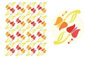 Tulip,Vector Florals,Vector Ornaments,Easter,Illustrations And Vector Art,Petal,Weather,Holidays And Celebrations