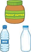 Jar,Milk Bottle,Milk,Vector,Drawing - Art Product,Water Bottle,Global Communications,Set,Dairy Product,Peanut,Bottle Cap,Mobile Phone,Drink,Drinking Water,Image Type,Clip Art,Mascot,Color Image,Ilustration,Paintings,Digitally Generated Image,Painted Image,Image,Design,Humor,Water,Bottle,Liquid,Food,Peanut Butter,Multi Colored,Glass - Material,Cap,Sign,Communication,Cartoon,Illustrations And Vector Art,Vector Cartoons,Characters,Computer Graphic,Collection,On The Phone,Technology,Isolated On White