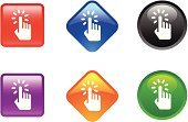 Computer Mouse,Human Hand,Symbol,Human Finger,Religious Icon,Computer Icon,Push Button,Square Shape,Internet,Interface Icons,Shiny,Single Object,Circle,Black Color,Curve,Diamond Shaped,Orange Color,Blue,Multi Colored,web icon,Illustrations And Vector Art,Green Color,Objects/Equipment,White Background,Vector Icons,Red,Purple