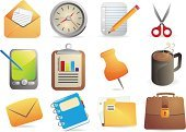 Religious Icon,Pen,Note Pad,E-Mail,Office Interior,Palmtop,Coffee - Drink,Spiral Notebook,Symbol,Paper,Business,Personal Organizer,Pencil,Envelope,Work Tool,Letter,Icon Set,Clock,Clipboard,Vector,Personal Data Assistant,Communication,Mail,Electronic Organizer,Cup,Set,Scissors,Briefcase,Equipment,Mug,Coffee Cup,Tea - Hot Drink,Document,Address Book,Clip Art,Thumbtack,Design Element,Computer Graphic,Ilustration,Global Communications,Concepts,Large Group of Objects,Vector Icons,Vector Backgrounds,Illustrations And Vector Art,No People,Isolated Objects