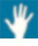 Human Hand,Spotted,Pattern,Halftone Pattern,Vector,Reaching,Pop Art,Palm,Touching,Number 5,Cartoon,Human Finger,Ilustration,gradation,Blue,Greeting,linescreen,Macro,Close To,Part Of,People,handcarves,Illustrations And Vector Art