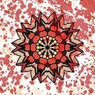 Doily,Symbol,Ornate,Computer Graphic,Shape,Cultures,Copy Space,Red,Posing,Backgrounds,Decoration,Abstract,Mandala,Symmetrical Pattern,Circle,Vector,Ilustration,Decor,Geometric Shape,Yantra