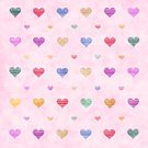Purple,Photography,Pattern,Valentine's Day - Holiday,Multi Colored,Square,Heart Shape,Love,2015