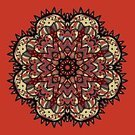 Symmetry,Abstract,Indigenous Culture,Napkin,Ornate,Shape,Ilustration,Tattoo,Red,Pattern,Vector,Backgrounds,Circle,Symbol,Mandala