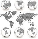 World Map,continents,Pattern,People Traveling,Business Travel,Three-dimensional Shape,Travel,Three Dimensional,Elegance,Empty,Modern,Ilustration,vector icon,Set,Design,Outline,Vector,Computer Icon,Simplicity,Sparse,Style,Symbol,Earth,Cartography,Sphere,Planet - Space,Map