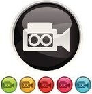 Television Camera,Home Video Camera,Symbol,Computer Icon,Religious Icon,Home Movie,Television Set,Movie,Interface Icons,Hollywood - California,Internet,Badge,Photograph,Vector,Film Industry,Exhibition,Film,Design,Entertainment,Digital Video Camera,Theatrical Performance,Computer Graphic,Performance,Design Element,Photographing,Technology,Circle,Ideas,Digitally Generated Image,Green Color,Blue,Nightlife,Red,Black Color,Shiny,Reflection,Vector Icons,Ilustration,Silver Colored,Concepts,Technology,template,Technology Symbols/Metaphors,Modern,Yellow,Illustrations And Vector Art,Simplicity,Style,Electronics,Pink Color,Curve,Clip Art,Sparse