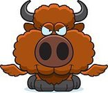 Ilustration,Computer Graphic,Mischief,Small,Smiling,Wing,Vector,Conspiracy,Clip Art,European Bison,Young Animal,American Bison,Buffalo Chicken Wings,Intelligence,Cartoon,Animal