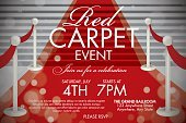 Event,Red Carpet,Opening Ceremony,Gala,Poster,Backgrounds,Old-fashioned,Retro Revival,Single Word,Ornate,Elegance,Text,Vector,Steps,Mystery,Party - Social Event,template,Design,Ilustration,Design Element,Typescript,Red,Staircase,Celebration,Textured,Ribbon,Invitation,Open,Dinner Theatre,Award Ribbon,Greeting Card,Decoration,Black Color,Stage Theater