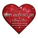 Valentine's Day - Holiday,Backgrounds,Valentine Card,Vector,Holiday,Scroll Shape,Greeting Card,Ilustration,Love,Pink Color,Red,Text,Heart Shape