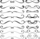 Decoration,Vector,Scroll Shape,Line Art,Swirl,Ornate,Design,Design Element,Art Deco,Clip Art,Art,Backgrounds,Abstract,Elegance,Black And White,Modern,Creativity,Computer Graphic,Sketch,Cultures,Old-fashioned,Drawing - Art Product,Ilustration,Beautiful,Classical Style,Art Product,Wave Pattern,Floral Pattern