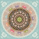 Yoga,Zen-like,Homemade,Holiday,Computer Graphic,Indian Culture,Mosaic,Nature,Indigenous Culture,Native American,East,Vector,Ornate,Neat,Symbols Of Peace,Symmetry,Organic,Ilustration,Curve,Design Element,Print,Antique,East Asian Culture,Celebration,North American Tribal Culture,Mandala,Napkin,Mexican Culture,Chinese Culture,Craft,Symbol,Shape,Textured Effect,Drawing - Art Product,Decoration,Cultures,Decor,Paper