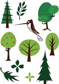 Pine Tree,Forest,Hummingbird,Symbol,Sparse,Simplicity,Bird,Nature,Leaf,The Four Elements,Humor,Branch,Deciduous Tree,Flying,Feather,Springtime,Fun,Nature,Nature Backgrounds,Illustrations And Vector Art,Birds,Green Color,Vector Icons,Lush Foliage,Animals And Pets