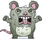 Mouse,Displeased,Anger,Furious,Ugliness,Grotesque,Rat,Unpleasant Smell,Pest,Ilustration,Rodent,Unhygienic,Animal,Vector,Beastly - Film Title,Cartoon,Animal Saliva,Clip Art,Computer Graphic