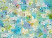 Backgrounds,Horizontal,Summer,Abstract,Blue,Photography,bright flowers,Pattern,Pastel Colored,Batik,Illustration,Painting,Nature,Red,Paintings,2015,No People