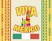 Cultures,Mexican Culture,Latin American and Hispanic Ethnicity,Billboard,Ilustration,Latin American Culture,Billboard Posting,Mexico,USA,The Americas,Viva Mexico,Pinata,Vector,Central America