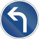 Left Handed,Sign,Turning,quadratic,Color Image,Square,Close-up,Traffic Regulations,White,Traffic Rules,Image Created 2000s,left turn,turn left,Pointing To,Image,Image Date,Transportation,Image Created 21st Century,Blue,Circle,Germany,Computer Graphic,Colors,Traffic,Authority,Geometric Shape,No People,Isolated On White,Curve,Arrow Symbol,Left Side,Symbol,Reflection,Frame,Law