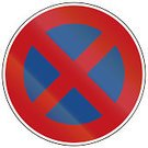 No Parking Sign,Red,White,Color Image,Symbol,Sign,Traffic Rules,Image,Circle,Germany,Blue,Transportation,Traffic Regulations