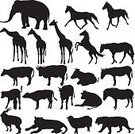 Elephant,Symbol,African Buffalo,Bull - Animal,Yak,Cow,Zebra,Goat,Sheep,Mane,Antelope,Animal Ear,Zoology,Collection,Ram - Animal,Black Color,Reptile,Tiger,Isolated,Animal Neck,Silhouette,Long Hair,Animal,Horse,Mustang,Animals In The Wild,Safari Animals,Lion - Feline,Zoo,Set,Giraffe,Hoof,Animal Trunk,Wildlife,Mammal,Remote,Animal Leg,Tail,Nature,Africa