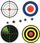 Target,Radar,Gun,Bullet,Bullet Hole,Aiming,Symbol,Map,Searching,Vector,Discovery,Hole,Cartoon,Acute Angle,Backgrounds,Direction,Label,Ilustration,Equipment