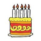 Doodle,Drawing - Activity,Cultures,Ilustration,Clip Art,Cheerful,Birthday,Candle,Comic Book,Spotted,Cake