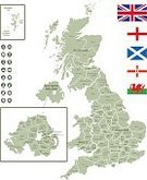 Vector,City,Liverpool,Map,Cartography,Scotland,European Union,Isolated,Separation,Land,London - England,Birmingham,Icon Set,Europe,Flag,Intricacy,UK,England,Wales,Edinburgh,Belfast - Northern Ireland,Geographical Locations,Leeds - England,Text,Green Color,Cardiff - Wales ,Tourist,regions,White Background,Capital Cities,navigation icons,Northern Ireland,Map Of United Kingdom,U K,Navigational Equipment,Gray,Derry - Northern Ireland,Glasgow,Manchester - England,names,Britannia,Computer Icon,Dividing,Sheffield - England
