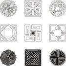 Circle,Geometric Shape,East Asian Culture,Christmas Decoration,Christmas Ornament,Vector,Square,Square Shape,China - East Asia,Architecture,Chinese Culture,Continuity,Outline,Brush Stroke,Indigenous Culture,Spiral,Decoration,Part Of,Style,Asia,East Asia,Symmetry,Symbol,Art,Design,Pattern,Design Element,Swirl,Cultures