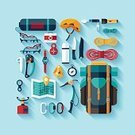 Mountain Climbing,Computer Icon,Symbol,Work Tool,Clambering,Flat,Tent,Camping,Climbing,Exploration,Travel,Badge,Boy Scout,Mountain,Entertainment Tent,Hook,Adventure,Carabiner,Equipment,alpinism,Compass,Pocket,Rope,Flashlight,Vector,Extreme Sports,Sport,Hiking,Label,Set,Computer Graphic,Season,Extreme Terrain,Tourism,Ilustration,Work Helmet,Map,Chest,Style,Single Object,Knife,Design,Cartography,Medicine,Recreational Pursuit,Backpack,Sports Helmet