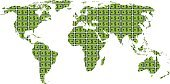 Currency,Finance,World Map,Map,Earth,Globe - Man Made Object,Hedge,Home Finances,Trading,Control,Paper Currency,International Border,Dollar,hegemony,Exchange Rate,Stock Market,Cartography,Dollar Sign,Panoramic,American Culture,Wealth,USA,Land,Concepts,Design,Savings,Contemplation,Capital Cities,Business,Isolated On White,Pattern,Winning,Physical Geography,Illustrations And Vector Art,Planet - Space,Business,Vector Backgrounds,No People,Global Map,Power,Sphere,Retail