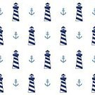 Nautical Vessel,Computer Graphic,Seamless,Shape,Sailor,Simplicity,Driving,Wheel,Wallpaper Pattern,Elegance,Decoration,Sea,Backgrounds,Anchor,Vector,Blue,Pattern,Lighthouse,Ilustration,Navy Blue